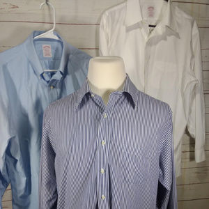 Lot of 3 Non Iron Madison Button Down Dress Shirts